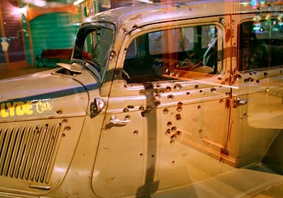 death car exhibit