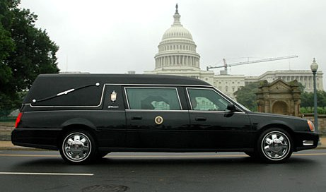 Ronald Reagan Hearse
