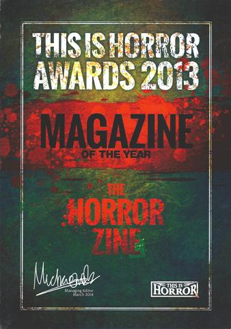 This is Horror Award The Horror Zine